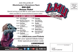 Postcard Mailer (Back) - 90045 Season Ticket Promotion