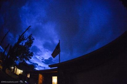 Night Sky Lafayette, CO July 4, 2016