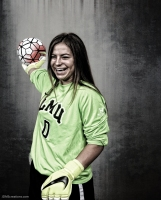 Charlee Pruitt #LIONSTRONG Photo Shoot Portrait 2016-17 LMU Women's Soccer
