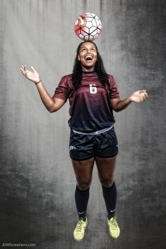 Samantha Jordan #LIONSTRONG Photo Shoot Portrait 2016-17 LMU Women's Soccer