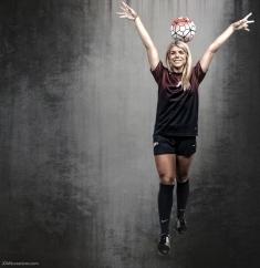 Sydney Zuccolotto #LIONSTRONG Photo Shoot Portrait 2016-17 LMU Women's Soccer
