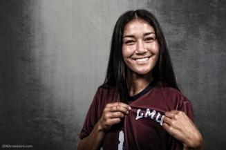 Ali King #LIONSTRONG Photo Shoot Portrait 2016-17 LMU Women's Soccer