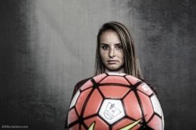 Melissa Lewis #LIONSTRONG Photo Shoot Portrait 2016-17 LMU Women's Soccer