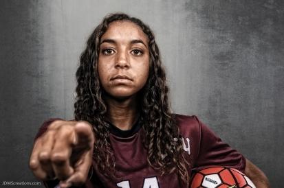Shelby Cormier #LIONSTRONG Photo Shoot Portrait 2016-17 LMU Women's Soccer