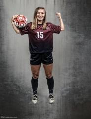 Chloe Colbert #LIONSTRONG Photo Shoot Portrait 2016-17 LMU Women's Soccer