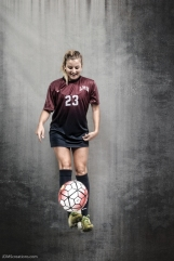 Maddie Medved #LIONSTRONG Photo Shoot Portrait 2016-17 LMU Women's Soccer