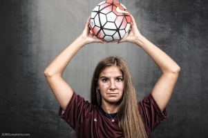 Gabbie Sanfilippo #LIONSTRONG Photo Shoot Portrait 2016-17 LMU Women's Soccer