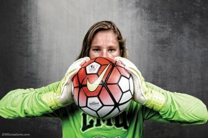 Sophia Leksan #LIONSTRONG Photo Shoot Portrait 2016-17 LMU Women's Soccer