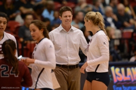 Tom Black LMU volleyball vs. UCLA AUg. 27, 2016