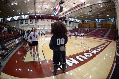 Iggy LMU volleyball vs. UCLA AUg. 27, 2016