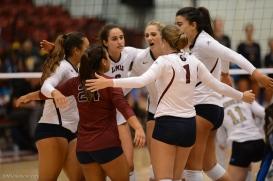 Team-LMU volleyball vs. UCLA AUg. 27, 2016