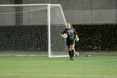 Charlee Pruitt LMU women's soccer vs. Nebraska-Omaha Sept. 24, 2016