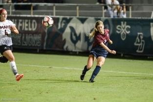 Jill Farley LMU women's soccer vs. Nebraska-Omaha Sept. 24, 2016
