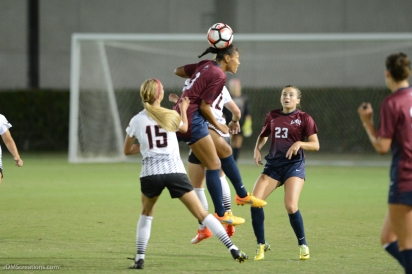 Sarina Bolden LMU women's soccer vs. Nebraska-Omaha Sept. 24, 2016