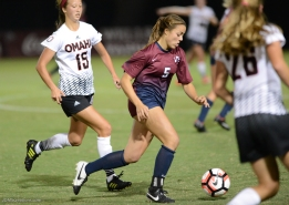 Phoebe Riley LMU women's soccer vs. Nebraska-Omaha Sept. 24, 2016
