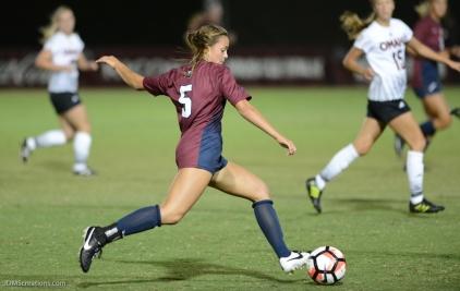Phoebe Riley LMU women's soccer vs. Nebraska-Omaha Sept. 24, 2016