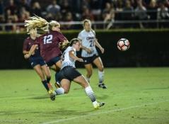 LMU women's soccer vs. Nebraska-Omaha Nikki Martino Game Tying goal