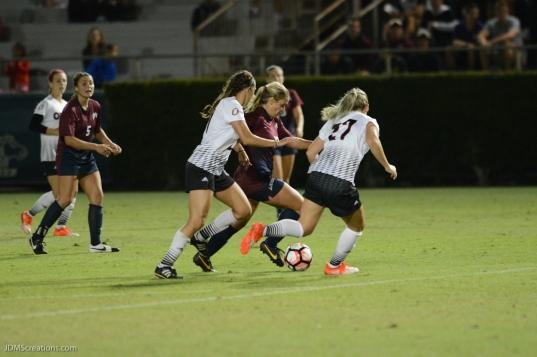 LMU women's soccer vs. Nebraska-Omaha Nikki Martino