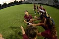 Team Introduction Raquel Angelone LMU women's soccer vs. Nebraska-Omaha Sept. 24, 2016