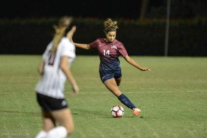 Shelby Cormier LMU women's soccer vs. Nebraska-Omaha Sept. 24, 2016