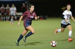 Emma Tyrnauer LMU women's soccer vs. Nebraska-Omaha Sept. 24, 2016