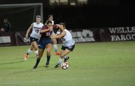 Emily Carman LMU women's soccer vs. Nebraska-Omaha Sept. 24, 2016