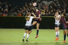 LMU women's soccer vs. Nebraska-Omaha Sarah Sanger