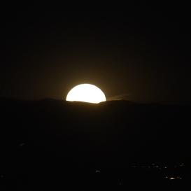 November 4 2016 Super Moon from Reno, Nev.