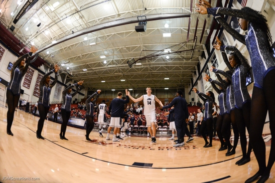 Mattias Markusson LMU Men's Basketbal vs. Boise State Dec. 5, 2016