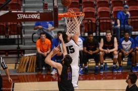 Stefan Jovanovic LMU Men's Basketbal vs. Boise State Dec. 5, 2016