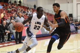 Buay Tuach LMU Men's Basketbal vs. Boise State Dec. 5, 2016