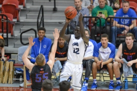 Buay Tuach LMU Men's Basketbal vs. Boise State Dec. 5, 2016