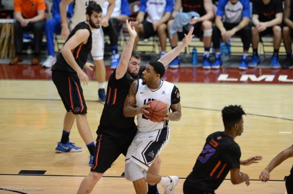 Shamar Johnson LMU Men's Basketbal vs. Boise State Dec. 5, 2016