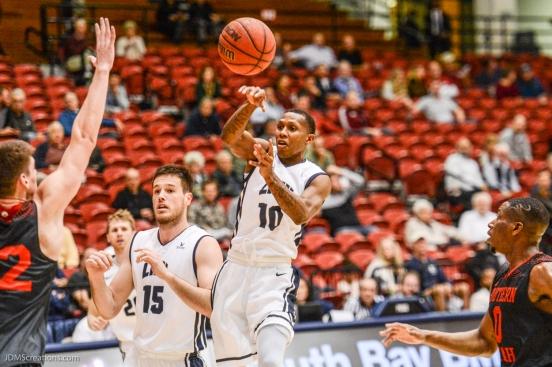 Brandon Brown LMU men's basketball vs. Southern Utah Dec. 8, 2016