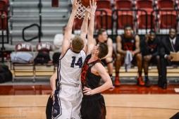 Mattias Markusson LMU men's basketball vs. Southern Utah Dec. 8, 2016