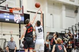 Stefan Jovanovic LMU men's basketball vs. Southern Utah Dec. 8, 2016