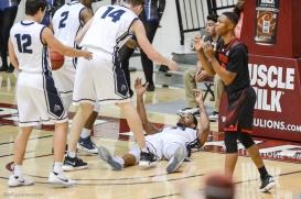 Shamar Johnson takes charge LMU men's basketball vs. Southern Utah Dec. 8, 2016