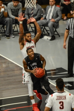 Brandon Brown LMU men's basketball at CSUN at Matadome Dec. 10, 2016 in Northridge, CA