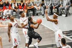 Brandon Brown LMU men's basketball at CSUN at Matadome Dec. 10, 2016 in Northridge, CA
