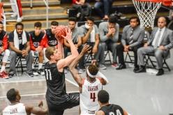 Petr Herman LMU men's basketball at CSUN at Matadome Dec. 10, 2016 in Northridge, CA