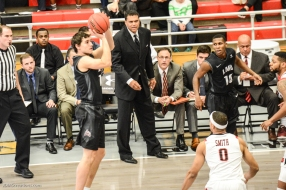 Steven Haney LMU men's basketball at CSUN at Matadome Dec. 10, 2016 in Northridge, CA