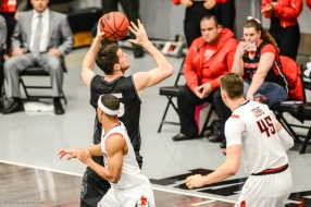 Stefan Jovanovic LMU men's basketball at CSUN at Matadome Dec. 10, 2016 in Northridge, CA