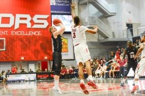 Erik Johansson LMU men's basketball at CSUN at Matadome Dec. 10, 2016 in Northridge, CA