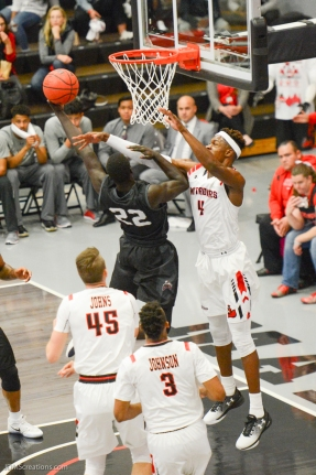 Buay Tuach LMU men's basketball at CSUN at Matadome Dec. 10, 2016 in Northridge, CA