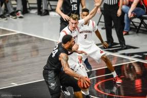 Shamar Johnson LMU men's basketball at CSUN at Matadome Dec. 10, 2016 in Northridge, CA