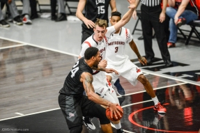 Shamar Johnson LMU men's basketball at CSUN at Matadome Dec. 10, 2016 in Northridge, CA