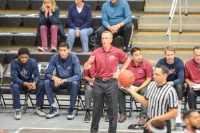 Mike Dunalp LMU men's basketball at CSUN at Matadome Dec. 10, 2016 in Northridge, CA