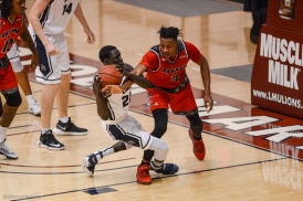 Buay Tuach LMU men's basketball vs. Incarnate Word Dec. 17, 2016