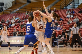 Jackie Johnson LMU women's basketball vs. UC Riverside Dec. 17, 2016