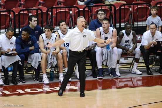 LMU men's basketball vs. Incarnate Word Dec. 17, 2016